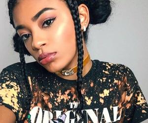 braids, slay, and melanin image