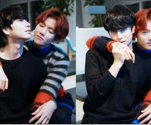 exo, baekhyun, and ้heechul image