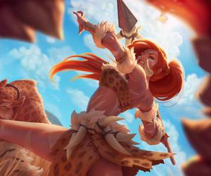 league of legends and nidalee image