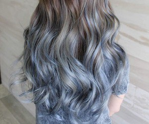 dyed hair, hair, and delphi image