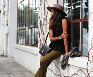 brunette, fashion, and sincerely jules image