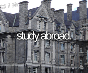 before i die, study, and abroad image