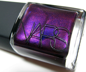 nars, nail polish, and purple image