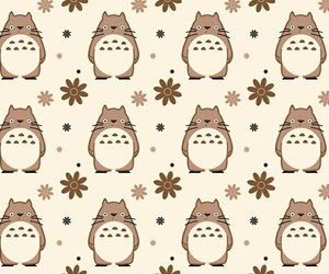 pattern, totoro, and wallpaper image