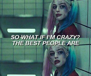 suicide squad, crazy, and harley quinn image