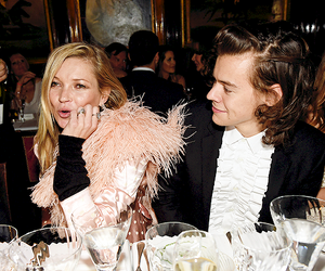 kate moss and Harry Styles image