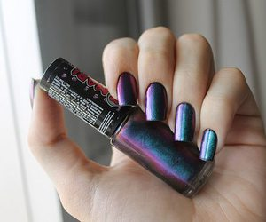 nails, nail polish, and amazing image