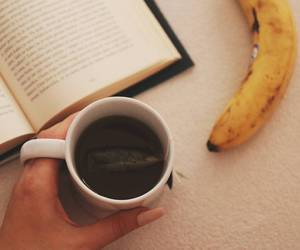 autumn, book, and banana image