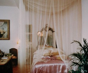 bedroom, princess, and vintage image