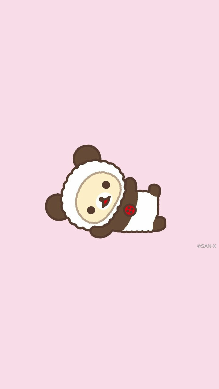 Animals Art Background Bears Beautiful Beauty Cartoon Cute Baby Design Drawing Illustration Kawaii Panda Pink Rilakkuma San X Sweets Wallpapers We Heart It Pink Background Beautiful Art Pastel Color Korilakkuma Beauty Art Wallpaper