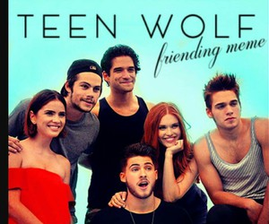 cast, teen wolf, and tyler posey image