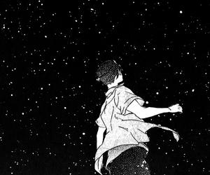 manga, monochrome, and anime image