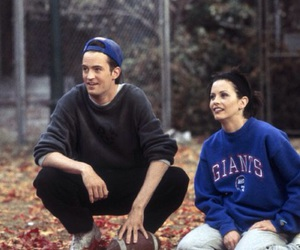 friends, monica geller, and chandler image