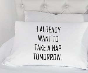 quotes, sleep, and pillow image