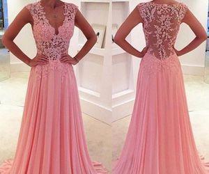 prom dress, evening dress, and prom dresses image