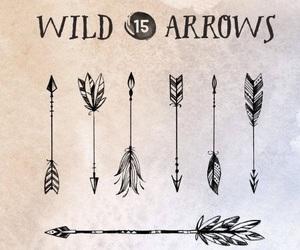 tattoo, arrow, and art image