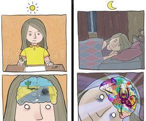 night, day, and sleep image