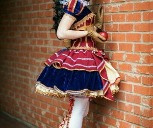 cosplay, steampunk, and snow white image