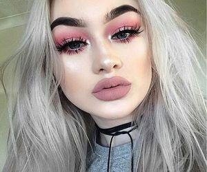 beautiful, eyebrow, and Nude image