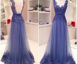 blue, nice, and dress image