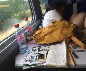 bag, sleep, and diary image