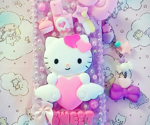 decoden, adorable, and HelloKitty image