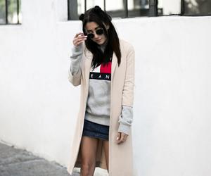 fall fashion, tommy hilfiger, and fashion blogger image