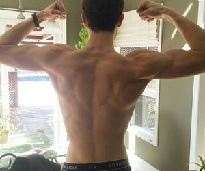 boys, muscles, and shawn image