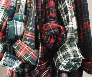 shirt, outfit, and plaid image