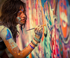 art, color, and paint image