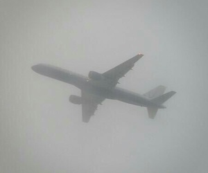 pale, plane, and grunge image