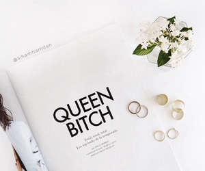 bitch, rings, and style image