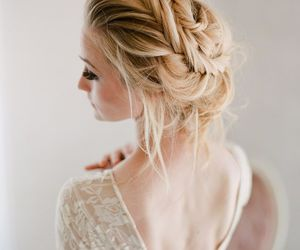 beautiful, feminine, and hair image