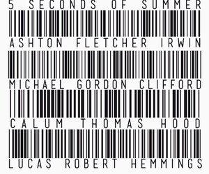 5sos, 5 seconds of summer, and ashton image