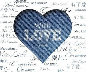 blue, heart, and cuote image