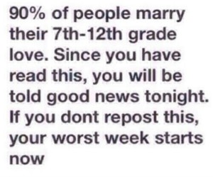 lol, repost, and high school love image