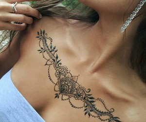tattoo, henna, and art image