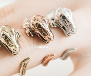 thumb ring, gold rings, and vintage rings image