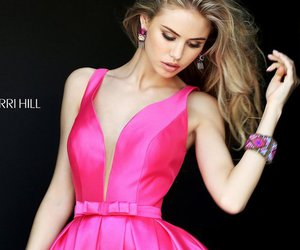 homecoming dress 2016, sherri hill s50506, and satin a-line dress image