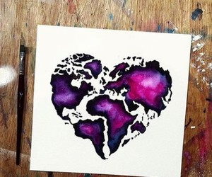 art, heart, and world image