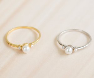 thumb ring, knuckle ring, and gold rings image