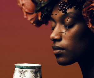 black woman, model, and photography image