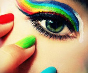 nails, colors, and eyes image
