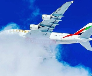 A380, Airbus, and airplanes image
