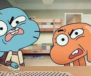 gumball, darwin, and cartoon image