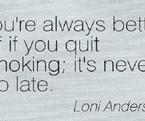 quit smoking quotes and stop smoking quotes image