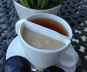 coffee, tea, and sunglasses image