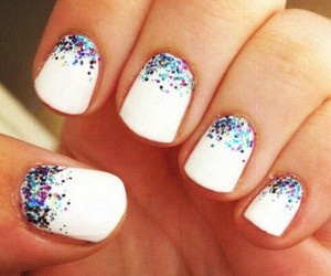 beauty, colorfull, and nails image