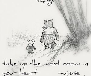 quote, winnie the pooh, and piglet image