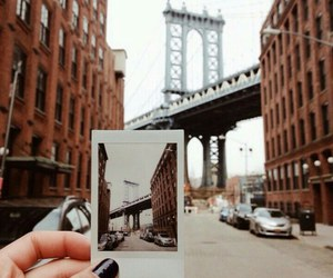 new york, photo, and polaroid image